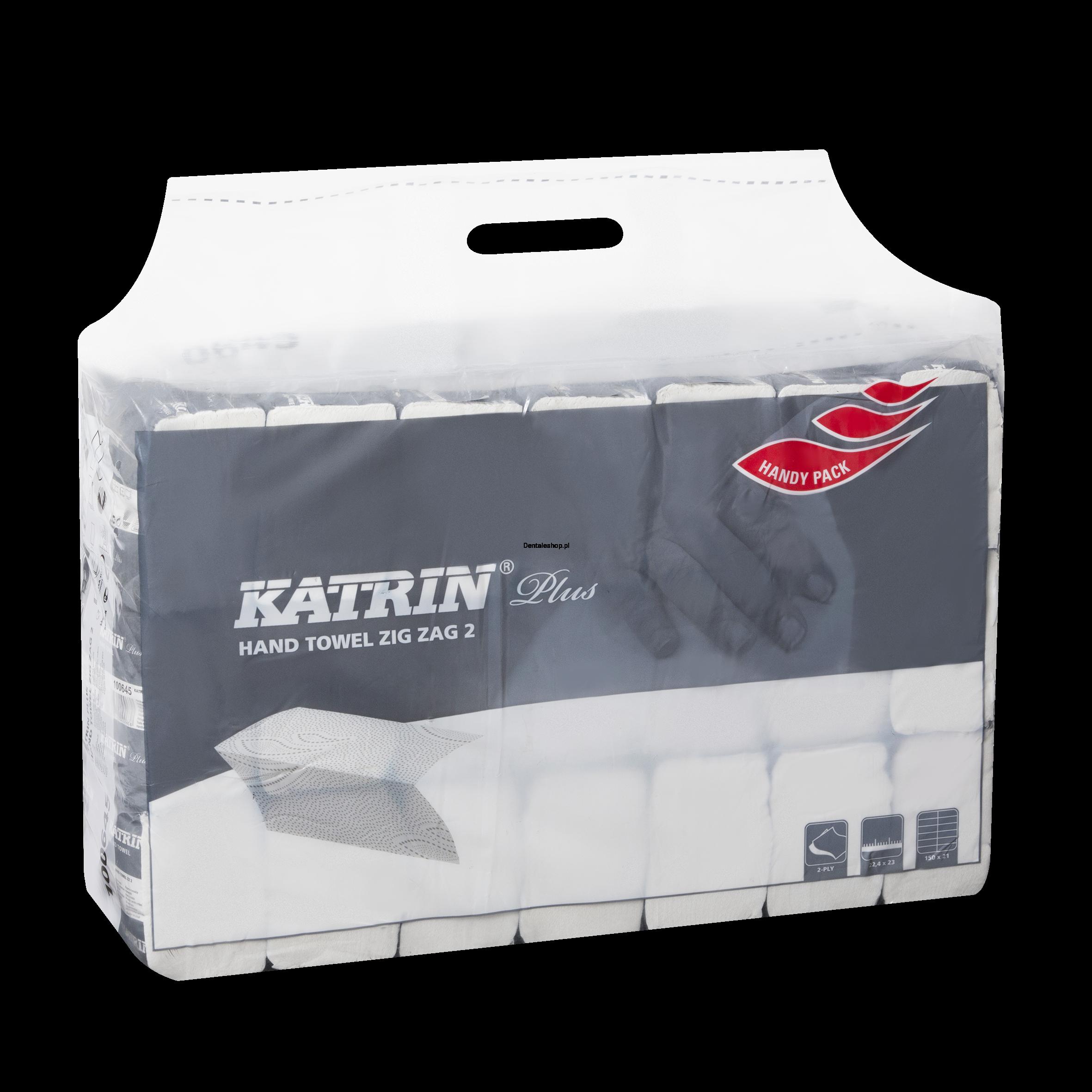 ba19a468 Ręczniki papierowe Katrin Plus ZZ Handy Pack 20x 200szt.