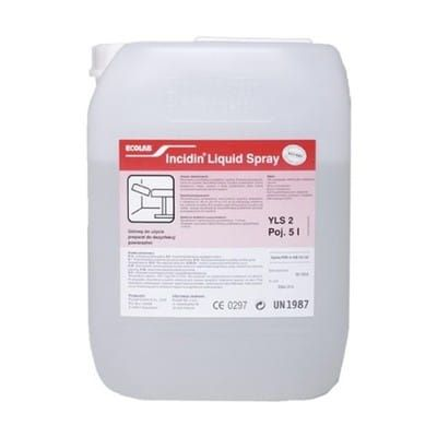 incidin liquid spray 5l ecolab
